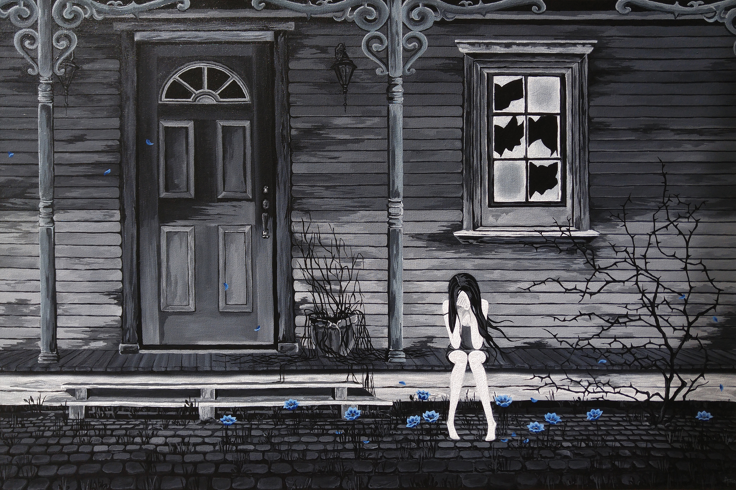 Lost At Home artwork by Andrea Ng - art listed for sale on Artplode
