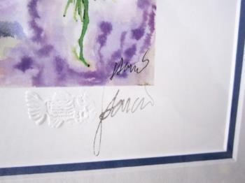Sea Anemone artwork by Jerry Garcia
