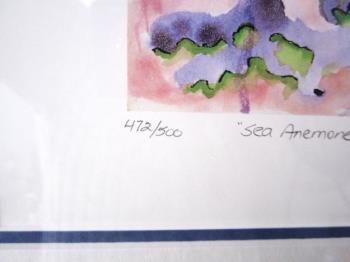 Sea Anemone artwork by Jerry Garcia - art listed for sale on Artplode