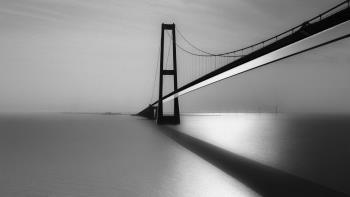 Great Belt Fixed Link, art for sale online by Erik Brede