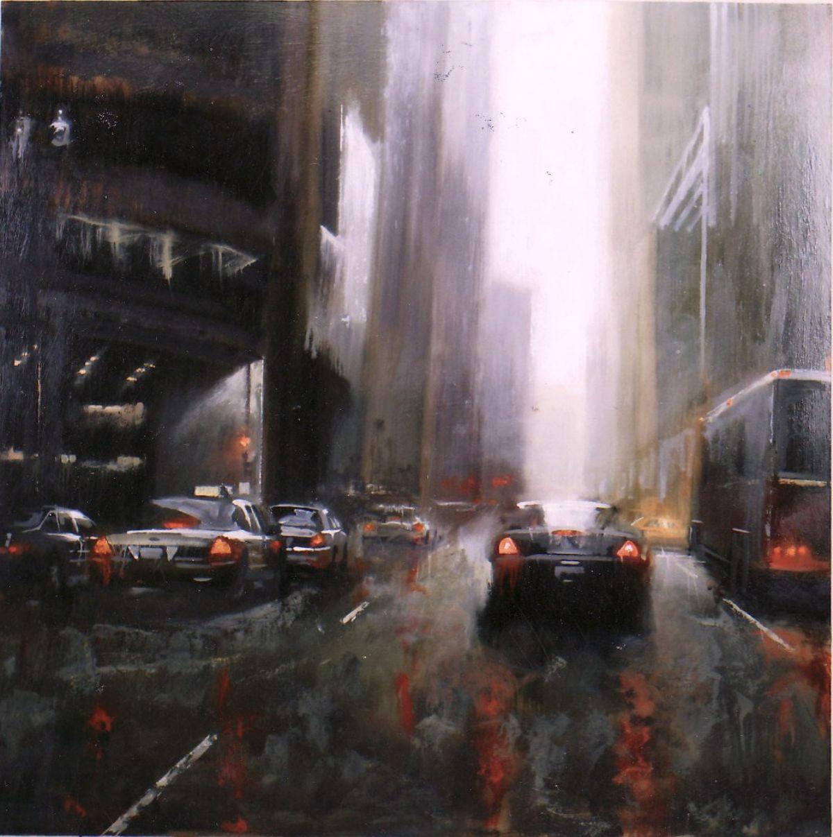 Canyon artwork by Robert Brasher - art listed for sale on Artplode