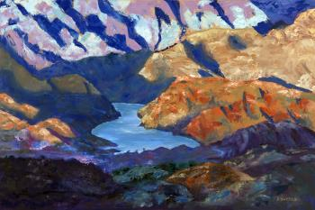 Sunrise Sunset Arizona Series artwork by Florine Duffield