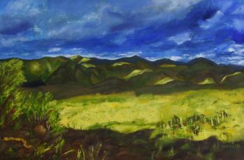 Sunrise Sunset Arizona Series artwork by Florine Duffield - art listed for sale on Artplode