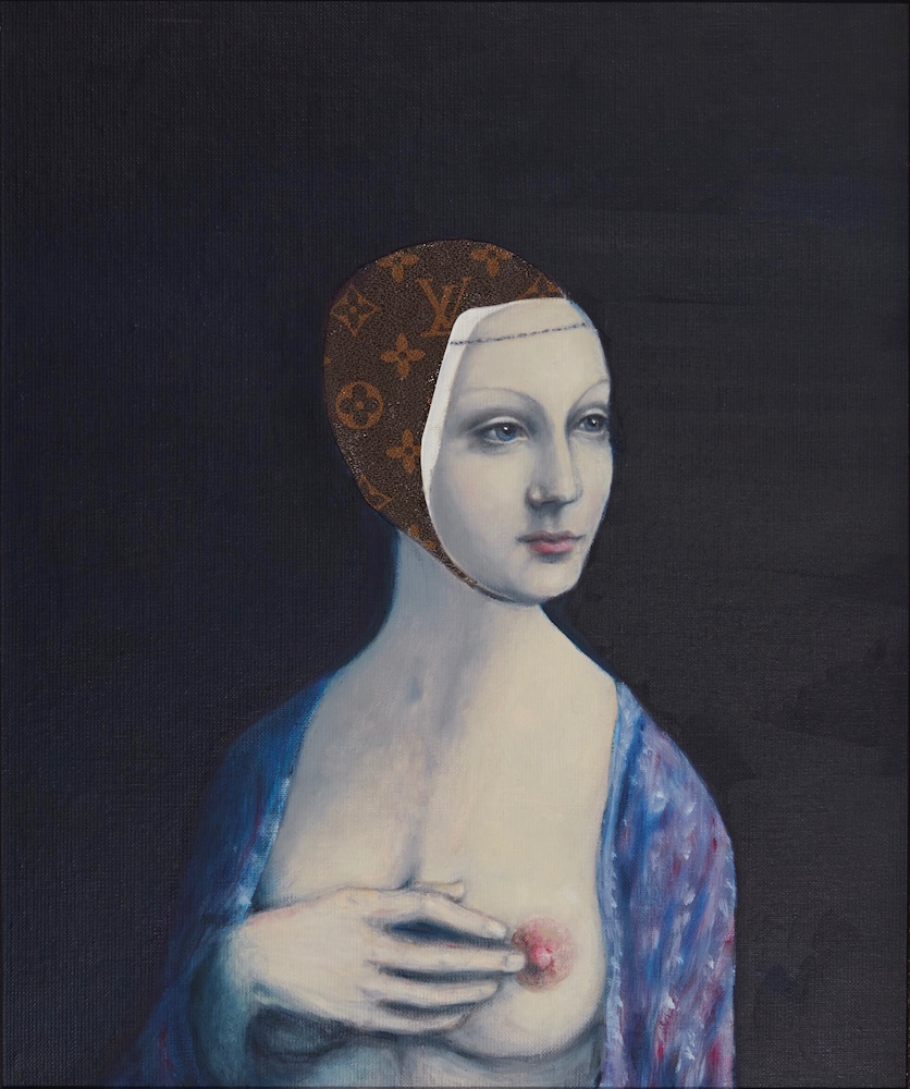 La Miss artwork by Anne Plaisance - art listed for sale on Artplode