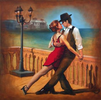 Tango Dream, art for sale online by Sergio Antonio