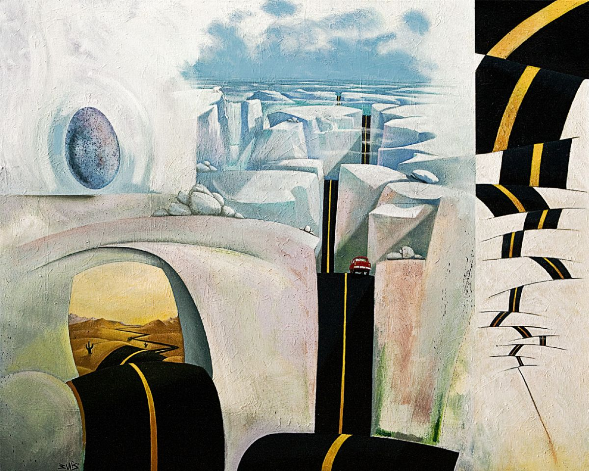 Journey artwork by Barry Scharf - art listed for sale on Artplode