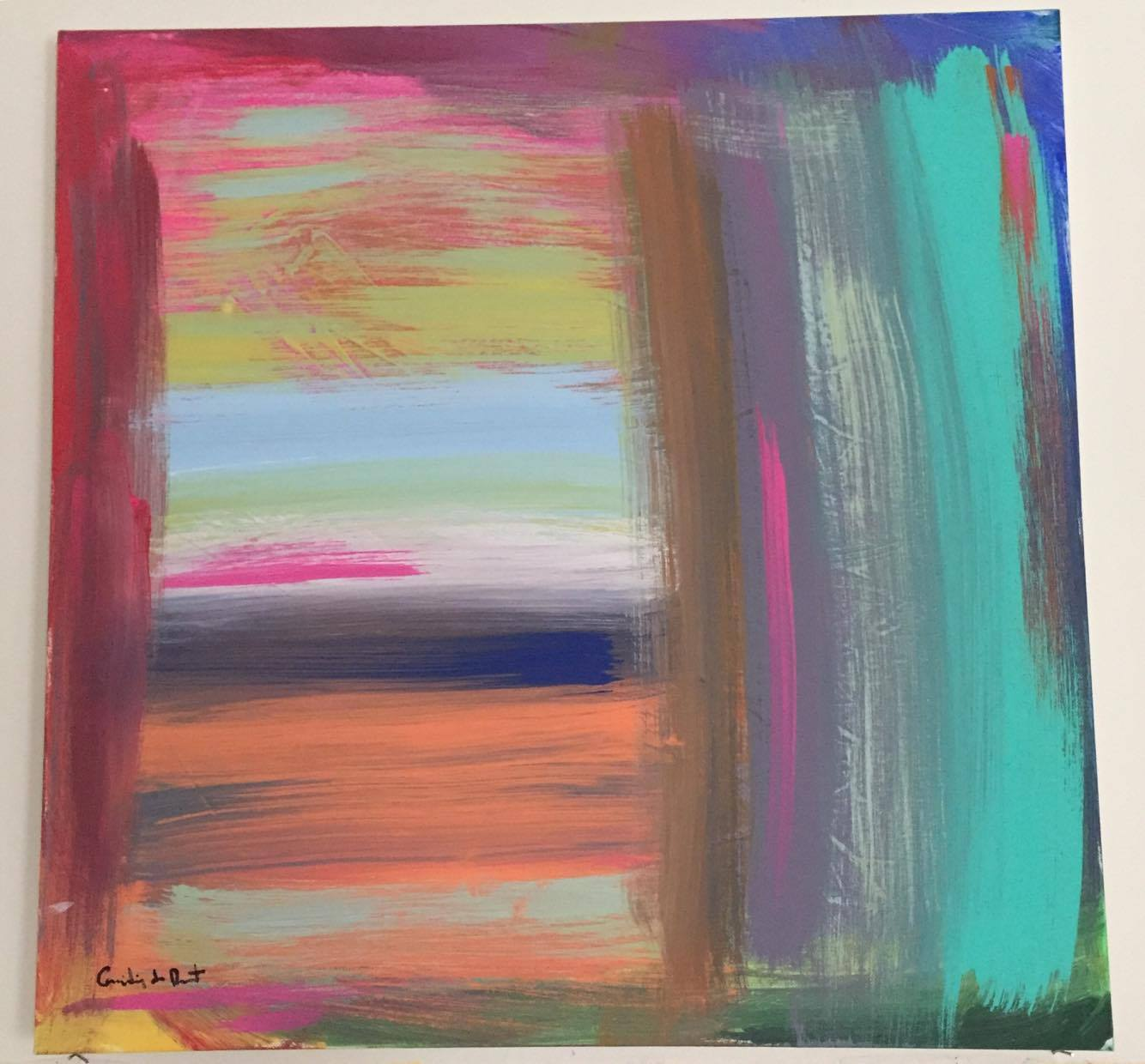 Untitled 1 artwork by Camilia de Murat - art listed for sale on Artplode