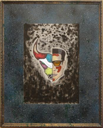 Toro Y Moi artwork by Antonio Aldea