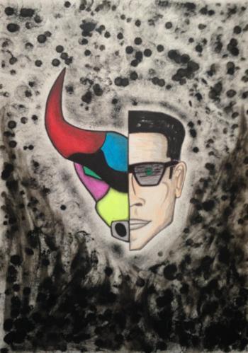 Toro Y Moi artwork by Antonio Aldea - art listed for sale on Artplode