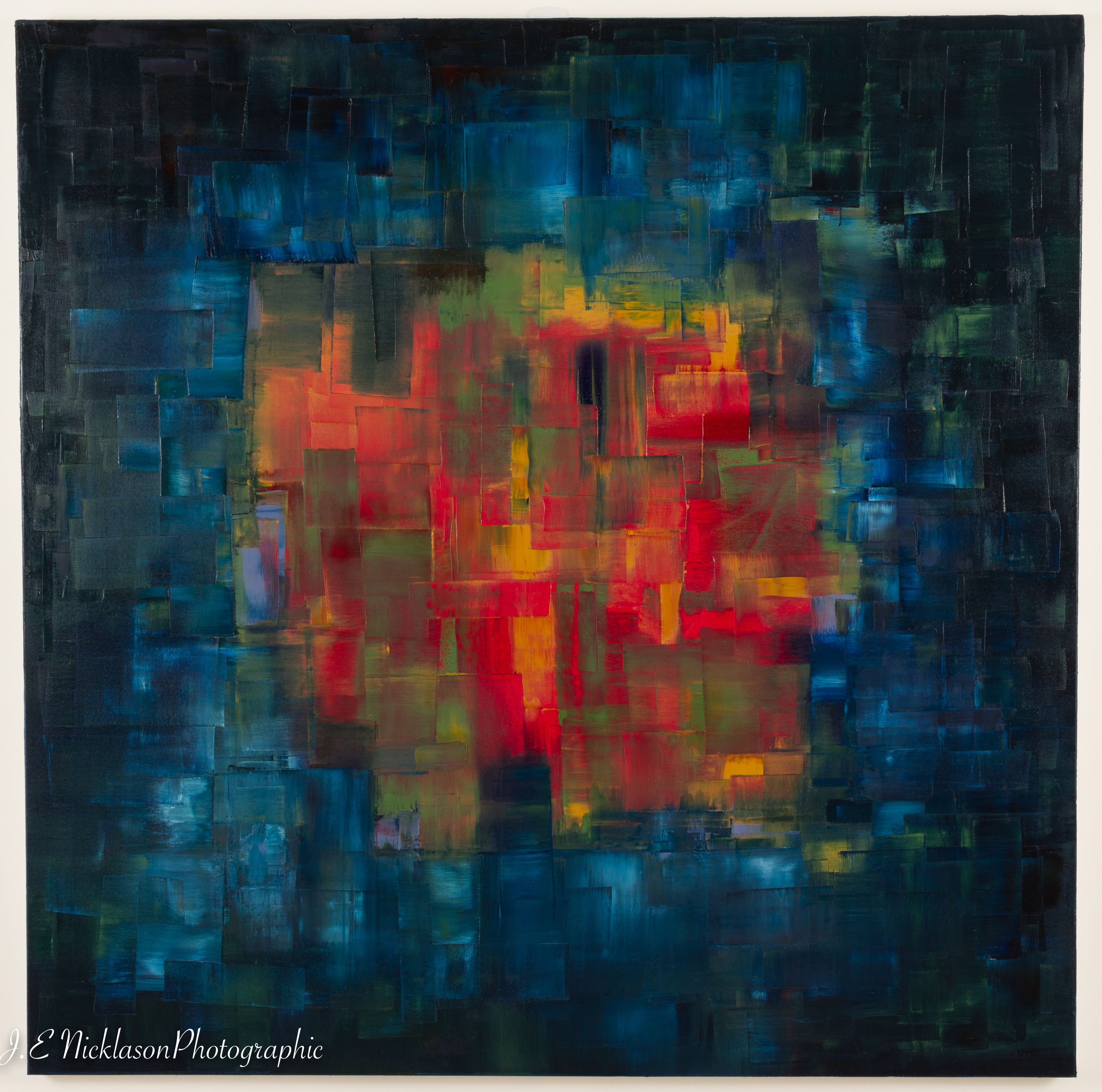 Hole in the Sky artwork by J E Nicklason - art listed for sale on Artplode
