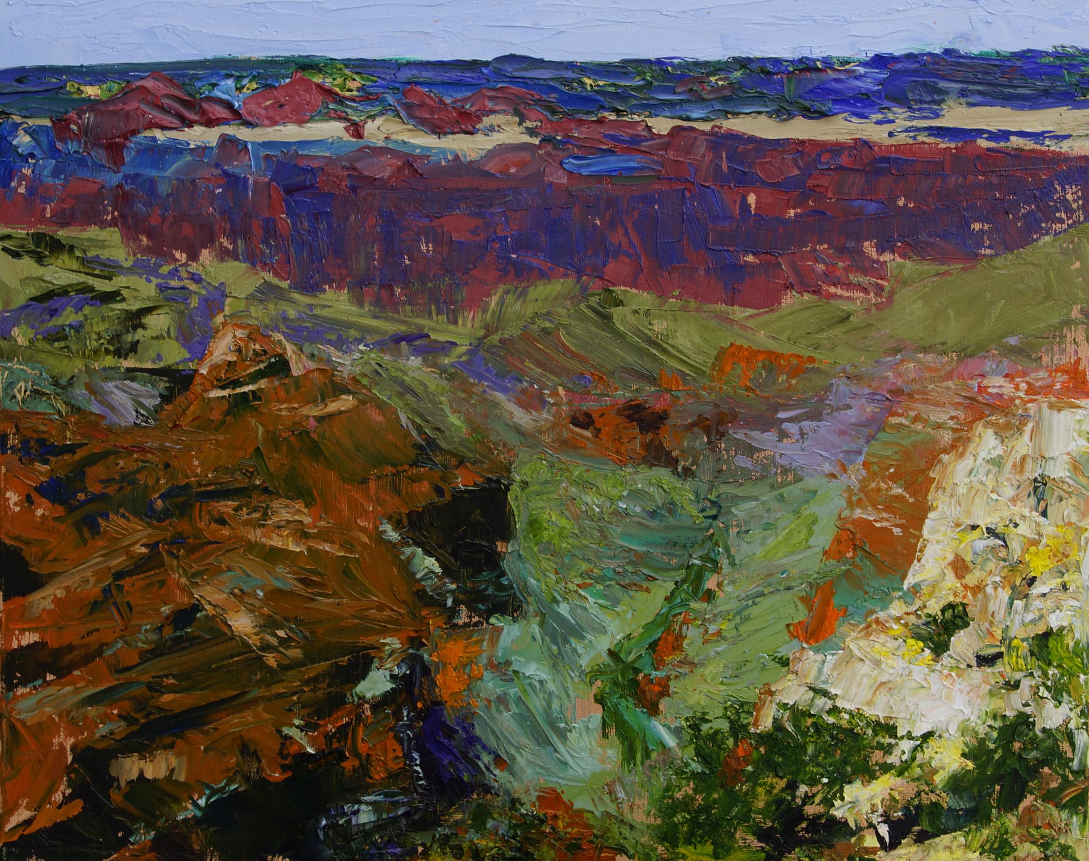 Grand Canyon artwork by Florine Duffield - art listed for sale on Artplode