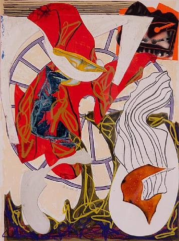 A Squeeze of the Hand artwork by Frank Stella - art listed for sale on Artplode