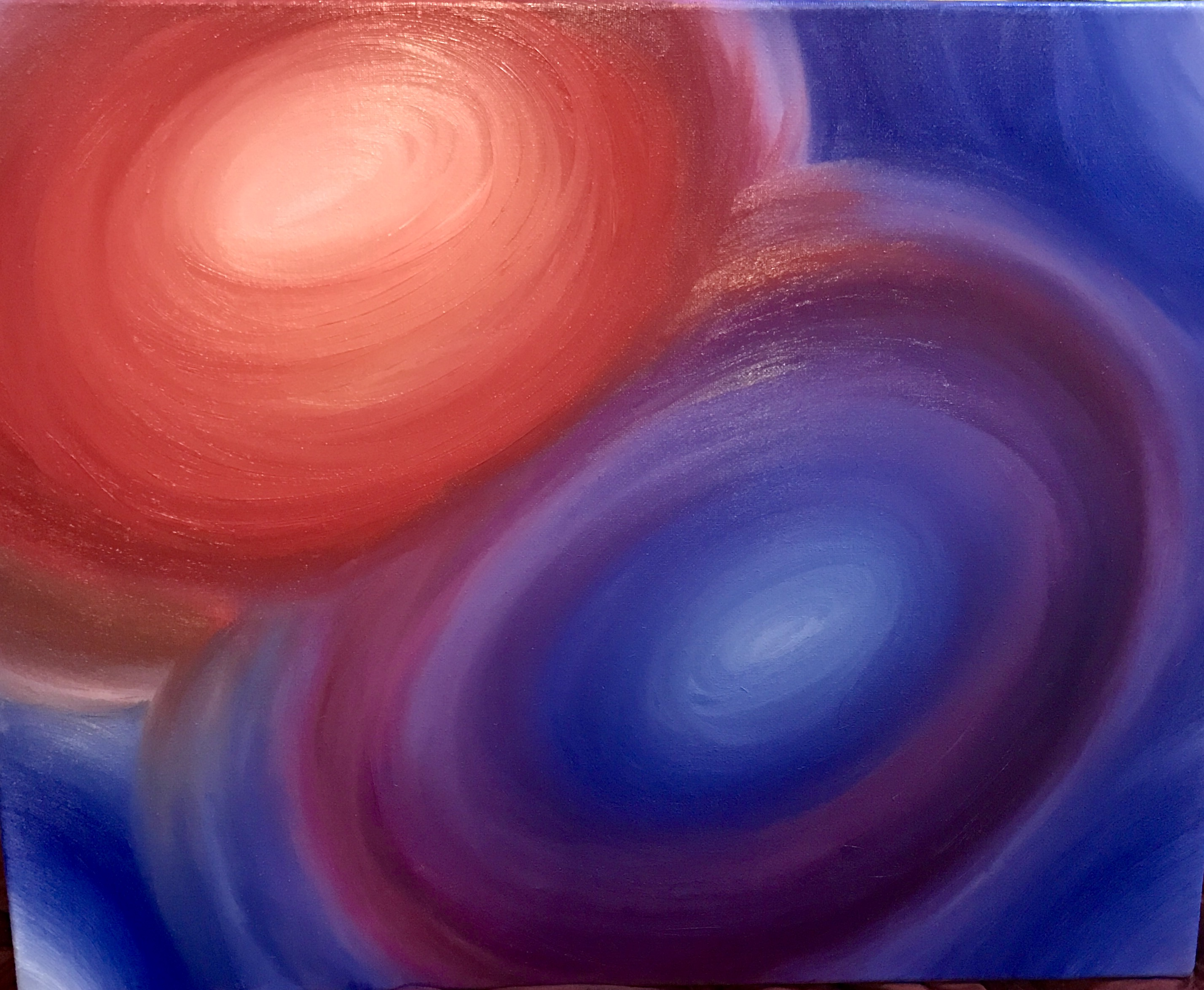 Namaste  artwork by Ash Newman - art listed for sale on Artplode