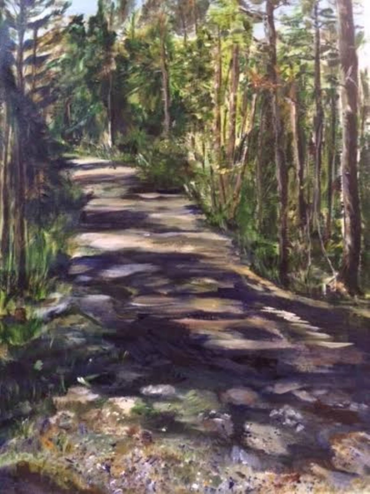 I Wish I Could Stay artwork by Belinda Low - art listed for sale on Artplode