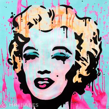 Marilyn Monroe, art for sale online by Mr Babes