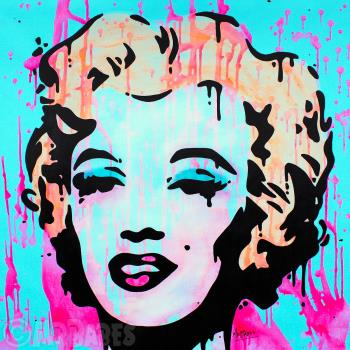 Marilyn Monroe, art for sale online by MRBABES