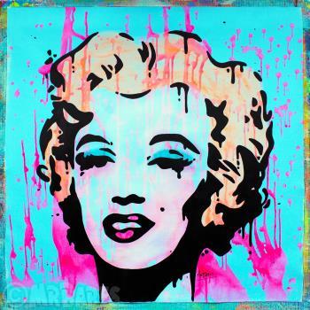Marilyn Monroe artwork by MRBABES