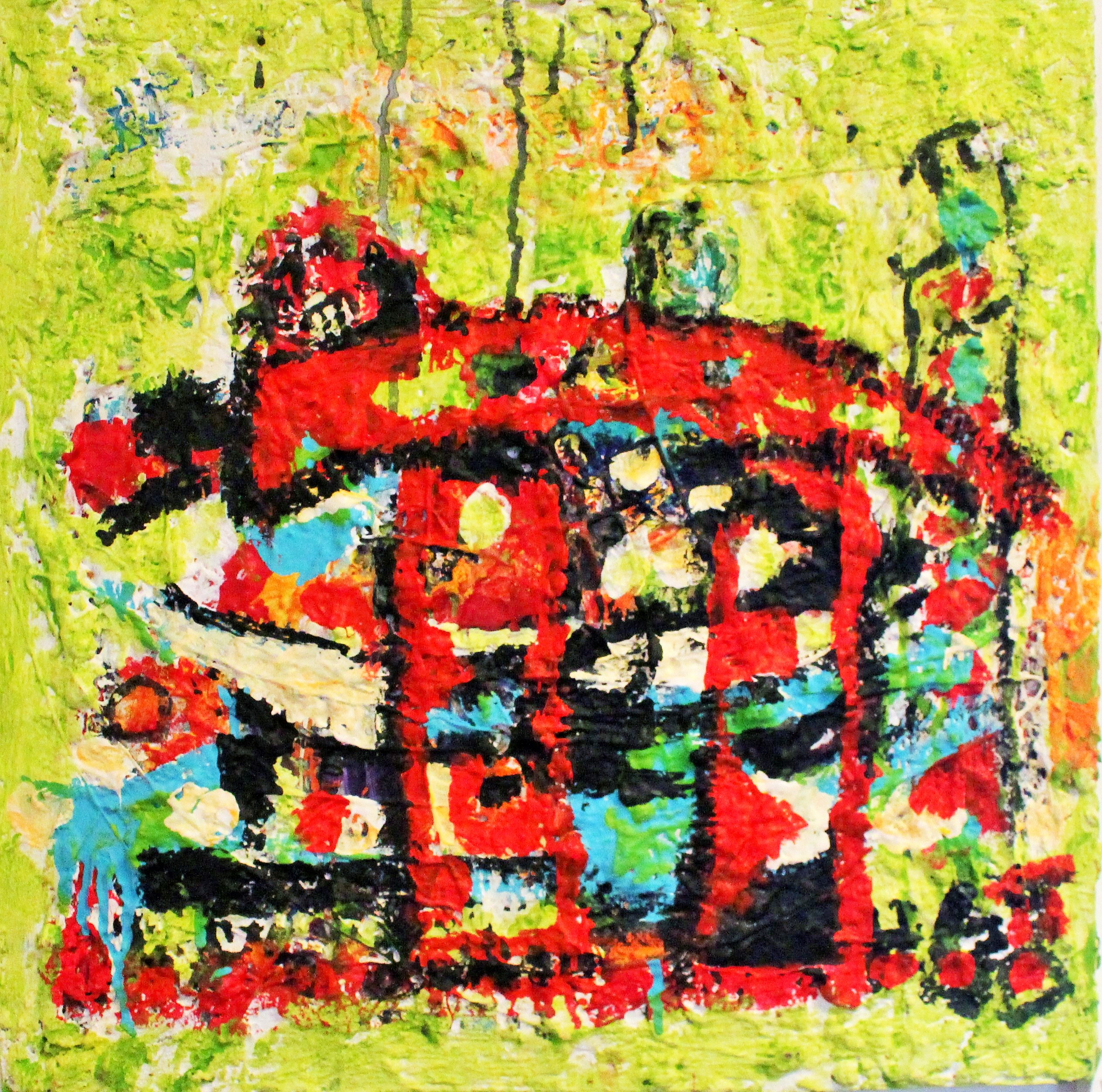 THE MYSTERY OF Pi YOU AND ME artwork by Hilde Gustava Ovesen - art listed for sale on Artplode