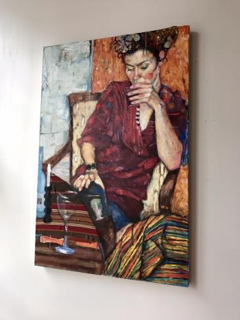 MBs Dinner Party artwork by Juliette Belmonte - art listed for sale on Artplode