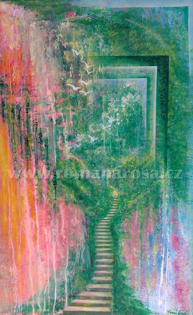 Full of life artwork by Romana Rosa - art listed for sale on Artplode