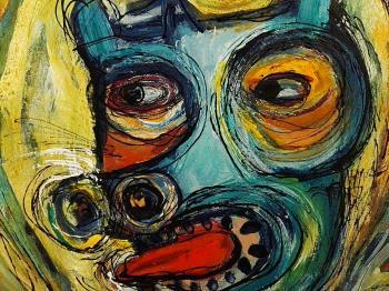 Family artwork by Rita Ventura - art listed for sale on Artplode