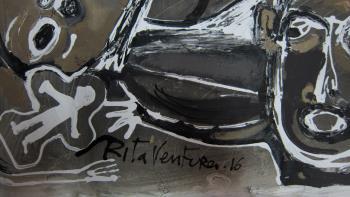 Europe artwork by Rita Ventura