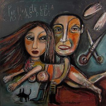 Toxic Relationships, art for sale online by Rita Ventura