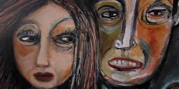 Toxic Relationships artwork by Rita Ventura - art listed for sale on Artplode