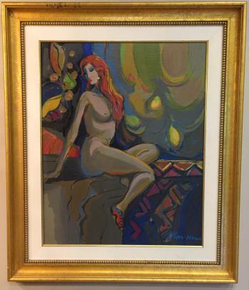 La Figure Nue 1 artwork by Isaac Maimon