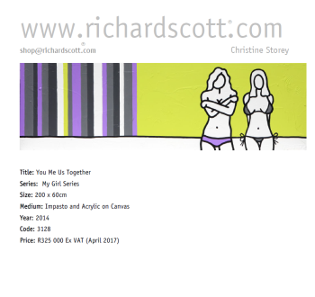 You, Me, Us, Together  artwork by Richard Scott - art listed for sale on Artplode