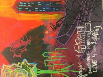 Collapse  artwork by Edward Sabiniano - art listed for sale on Artplode
