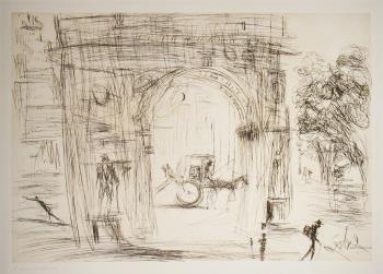Washington Gate, art for sale online by Salvador Dali