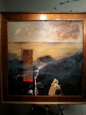 Abstract 1 artwork by Robert Brasher