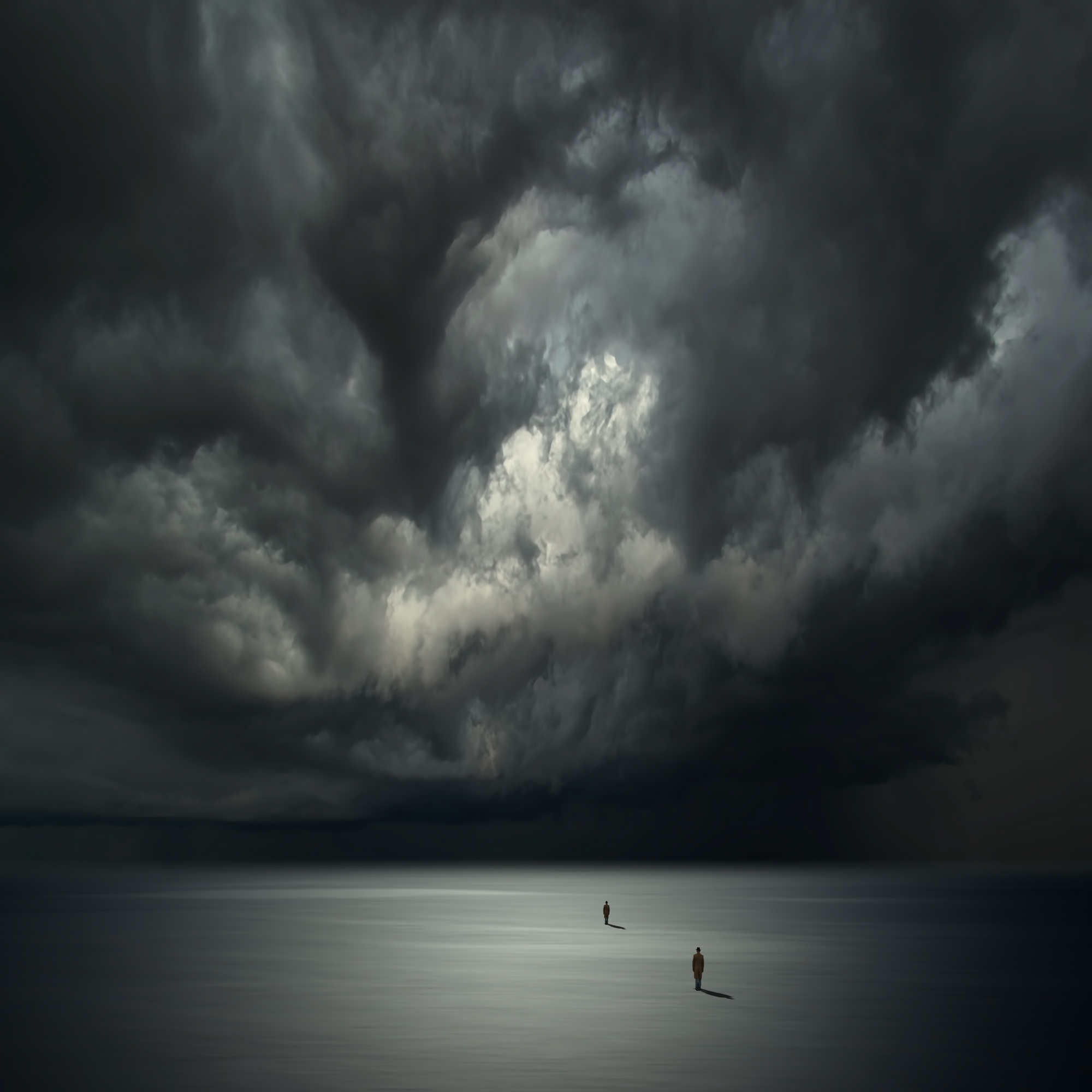 The Distance Between Us artwork by philip mckay - art listed for sale on Artplode