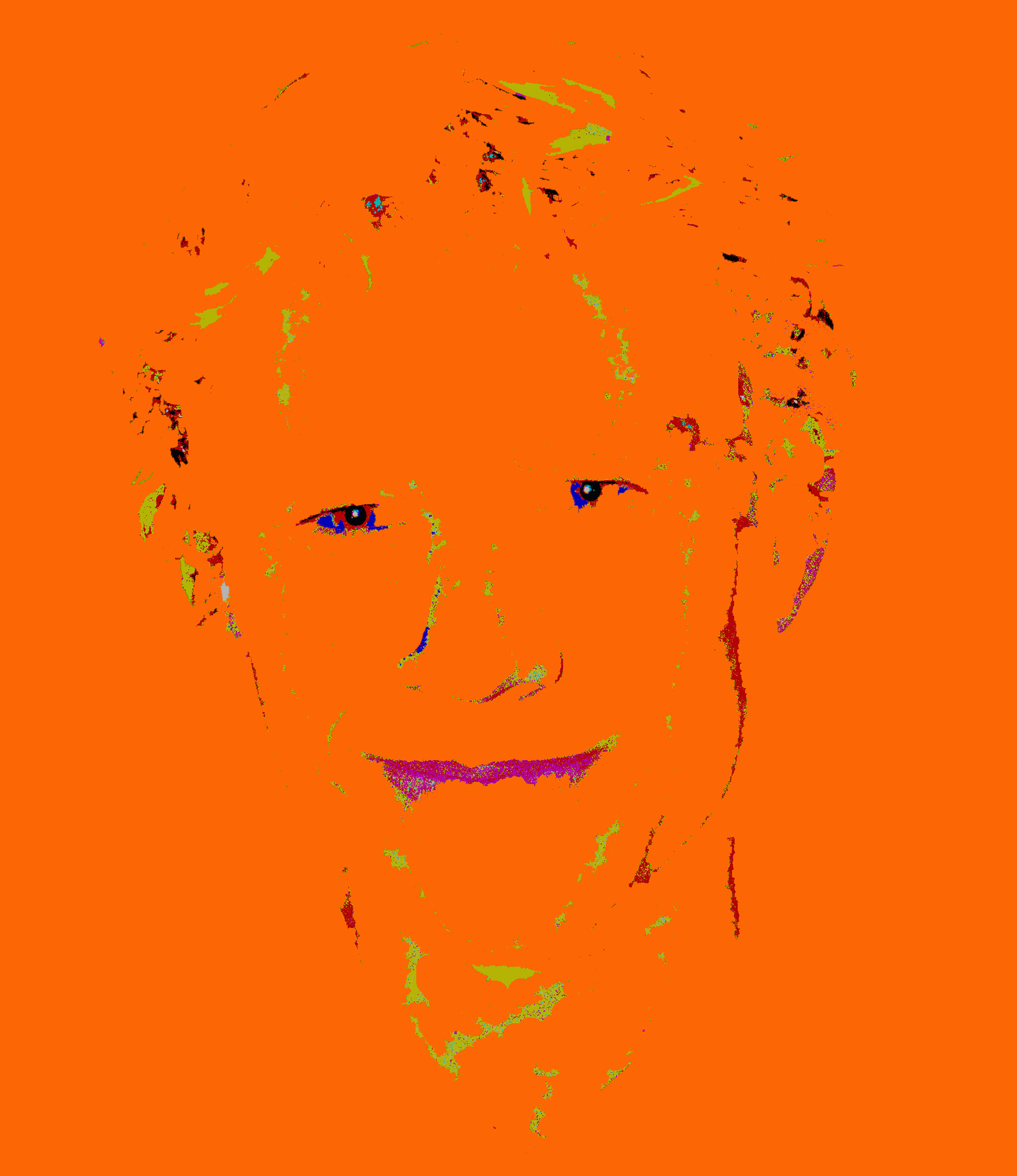 Heath Ledger  artwork by Richard Simpkin - art listed for sale on Artplode