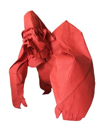 Large Origami Sculpture, art for sale online by Cuong Nguyen