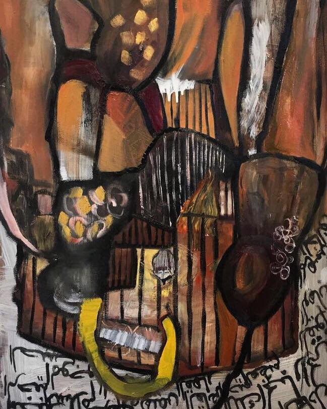 untitled artwork by Taif Albarainkani - art listed for sale on Artplode