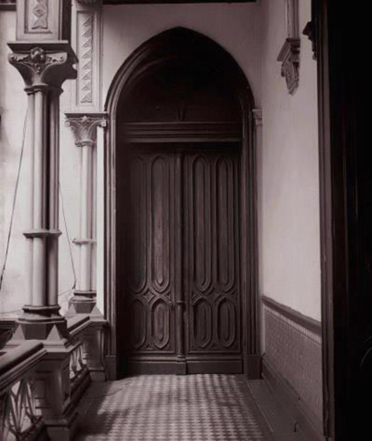 Old door  artwork by Juan Borja - art listed for sale on Artplode
