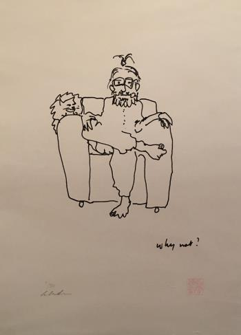 Why Not, art for sale online by John Lennon