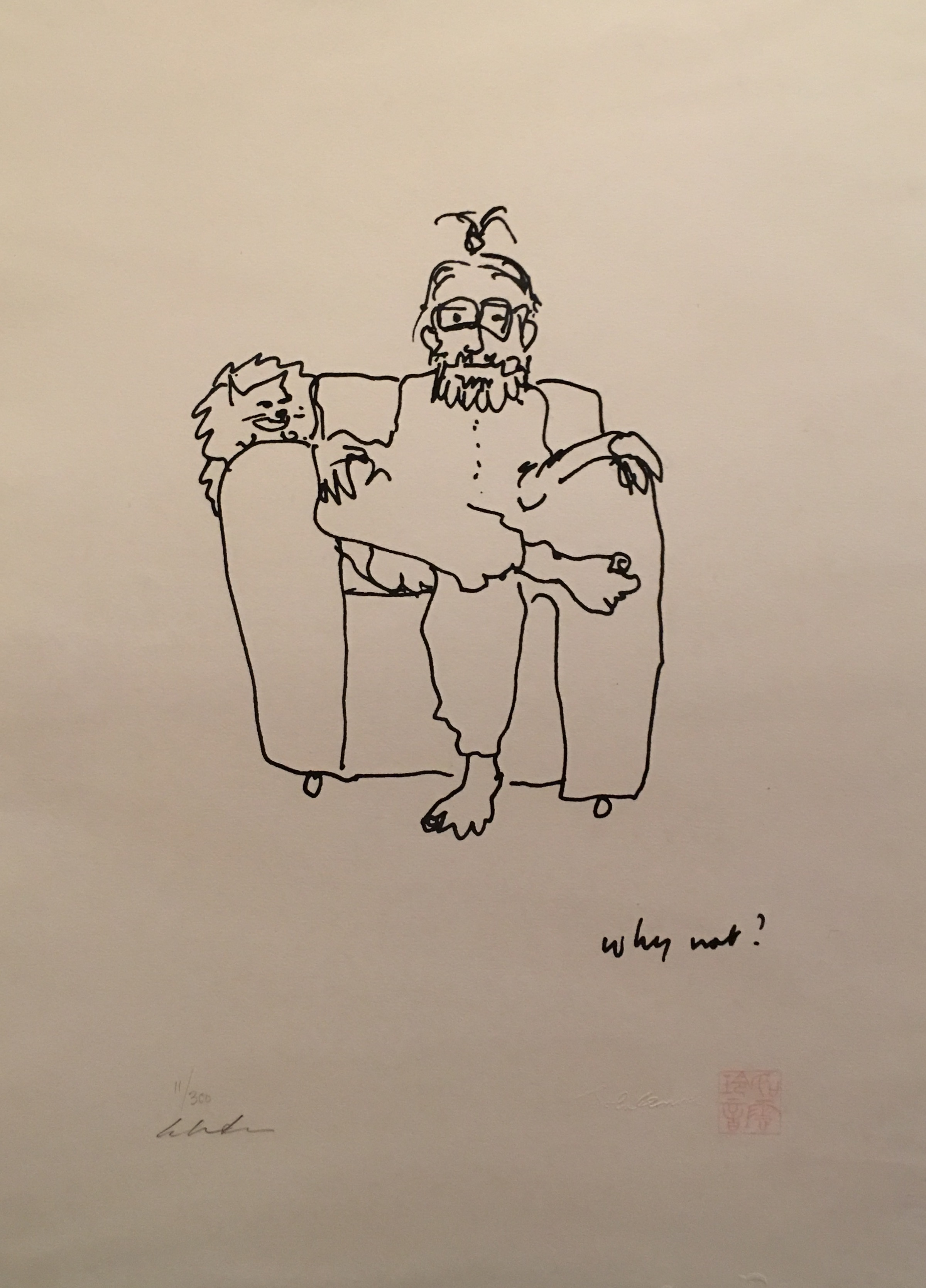 Why Not Artwork By John Lennon Buy Art On Artplode
