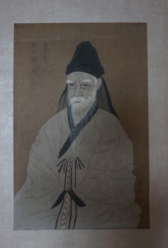 Portrait of Yi Hwang artwork by Unknown