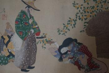 Antique Japanese painting artwork by Unknown