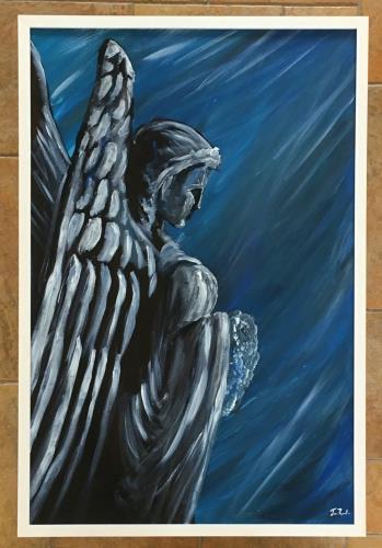Blue Angel artwork by Jose Ronaldo Pinheiro Carneiro Filho