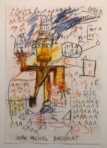 Untitled, art for sale online by Jean Michel Basquiat