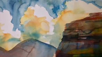 Thirsty Land artwork by Louis Venter - art listed for sale on Artplode