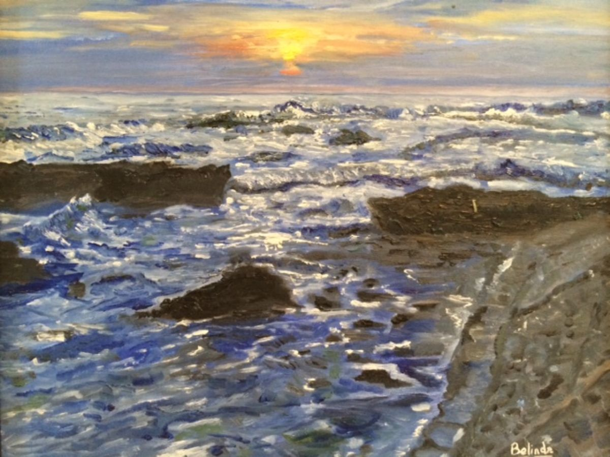 I See The Light artwork by Belinda Low - art listed for sale on Artplode