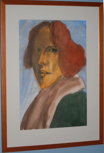 Oscar Wilde artwork by Leonard Baskin - art listed for sale on Artplode