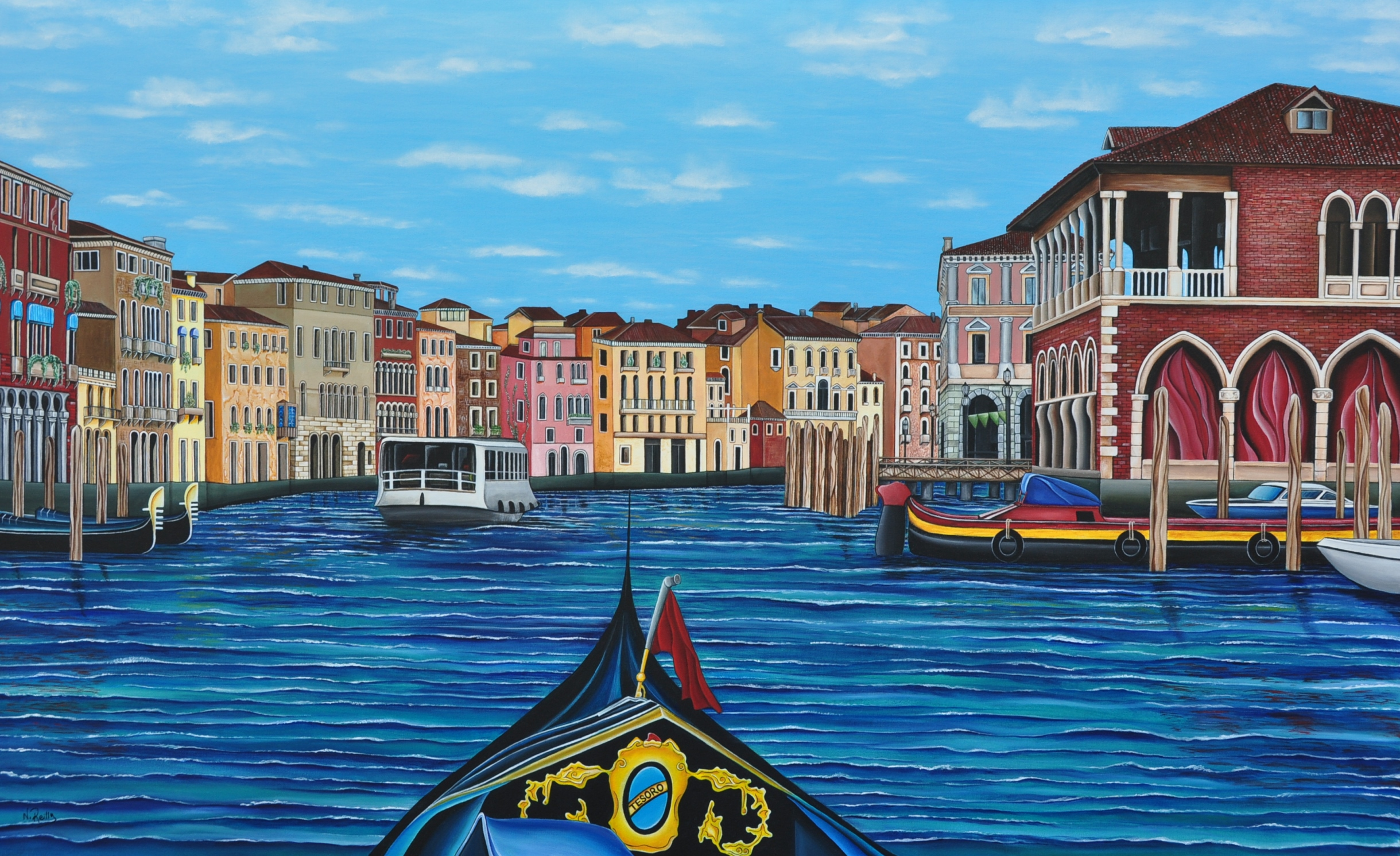 Tesoro artwork by Natalie Reilly - art listed for sale on Artplode