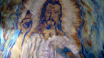 Merciful Jesus Misericordioso Jesus  artwork by Ricardo Lemos