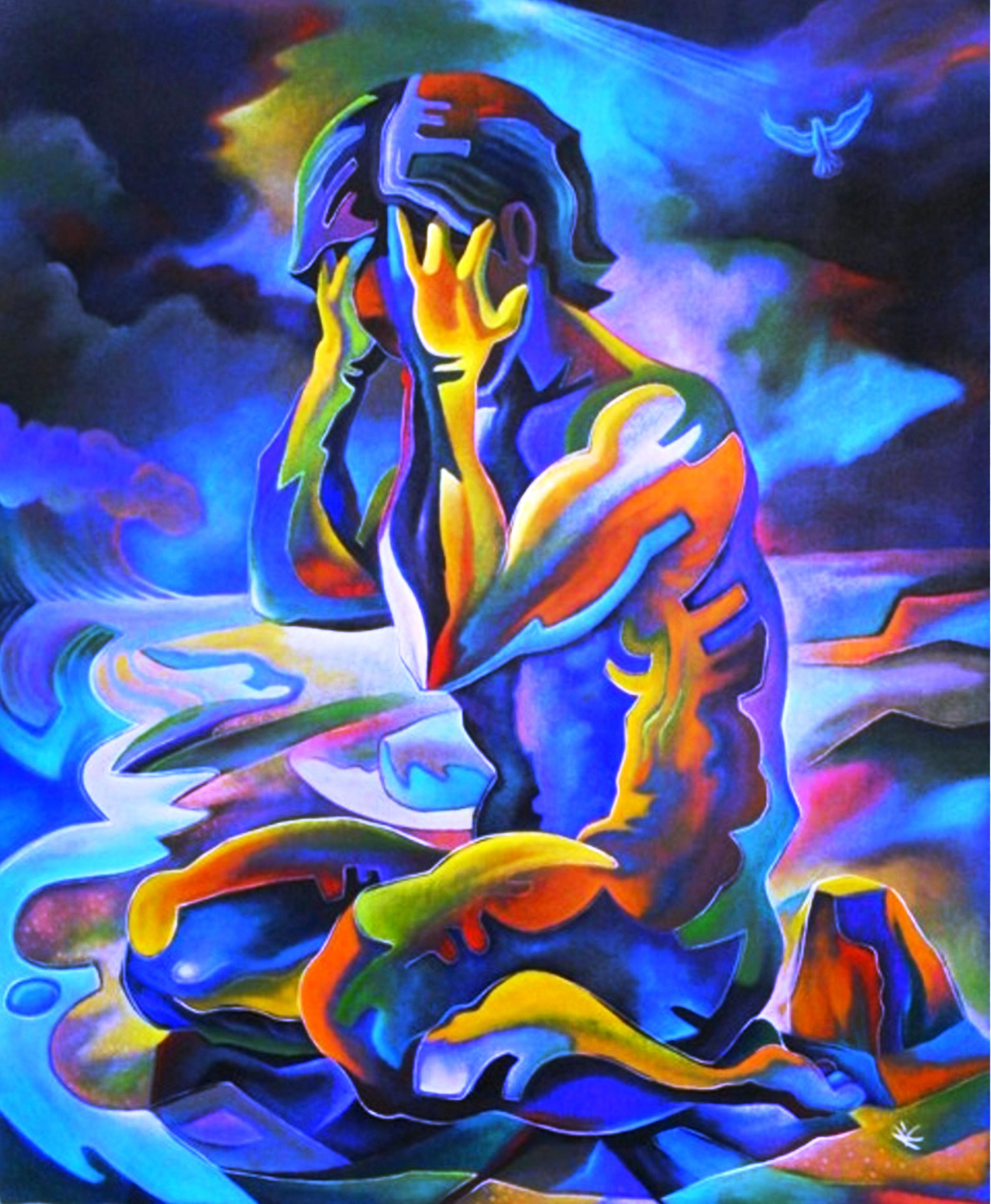 PREMONITION artwork by Alan Kent - art listed for sale on Artplode